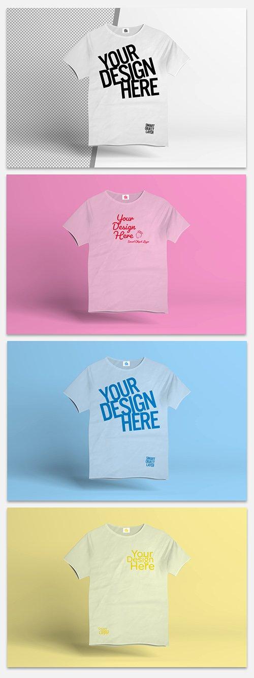 White T-Shirt Mockup 329646056