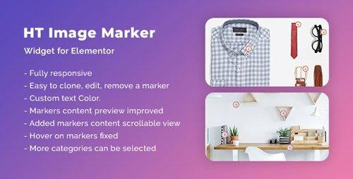 CodeCanyon - HT Image Marker for Elementor v1.0.0 - 26271151