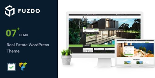 ThemeForest - Fuzdo v2.0 - Real Estate WordPress Theme - 21020693
