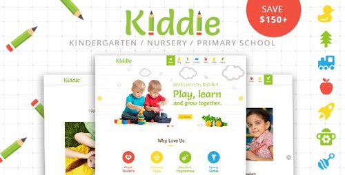 ThemeForest - Kiddie v4.1.8 - Kindergarten WordPress Theme - 14552819