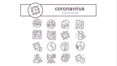 Coronavirus - Animated Icons 26234935