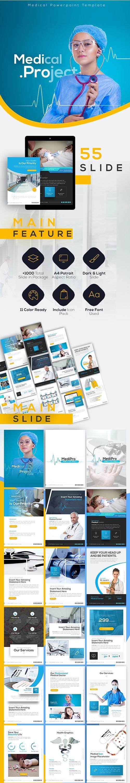 Medipro Portrait Medical PowerPoint Template
