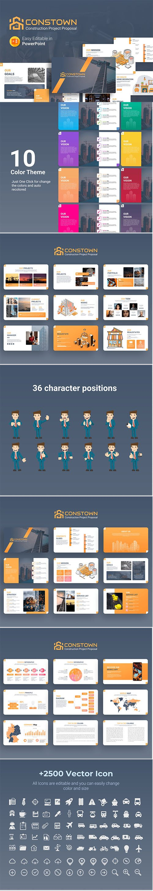 Constown – Construction Project Presentation