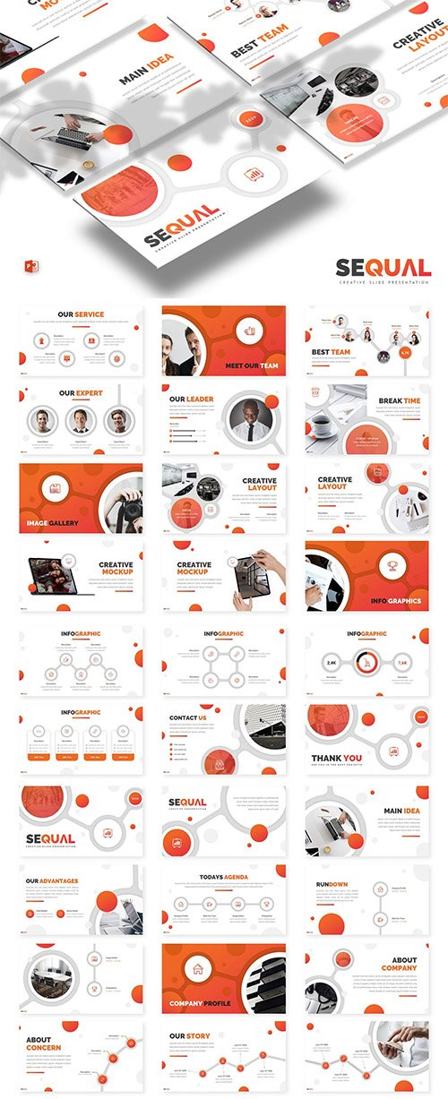 Sequal - Powerpoint, Keynote and Google Slide Template