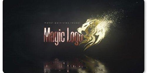 Magic Metal Particles Logo Reveal 26215603