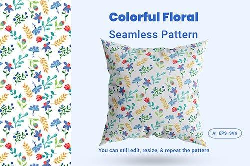 Seamless Pattern Floral