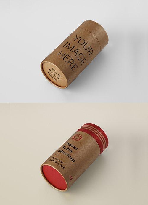 Cardboard Tube Mockup 336158709 PSDT