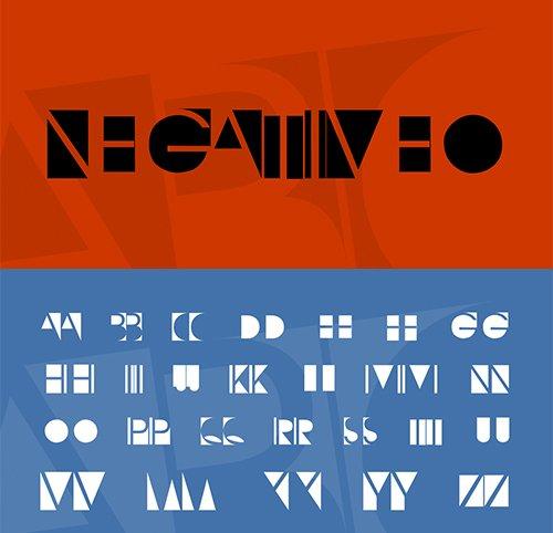 NegativeO Script Font
