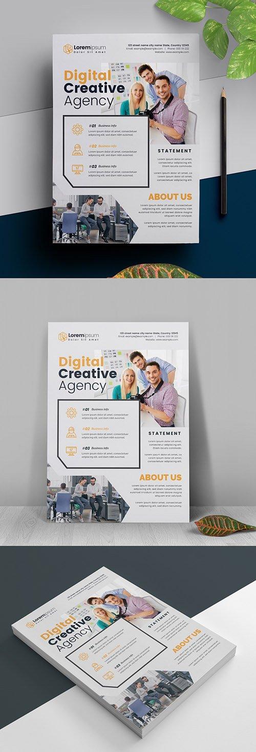 Corporate Minimal Flyer Layout 317788366