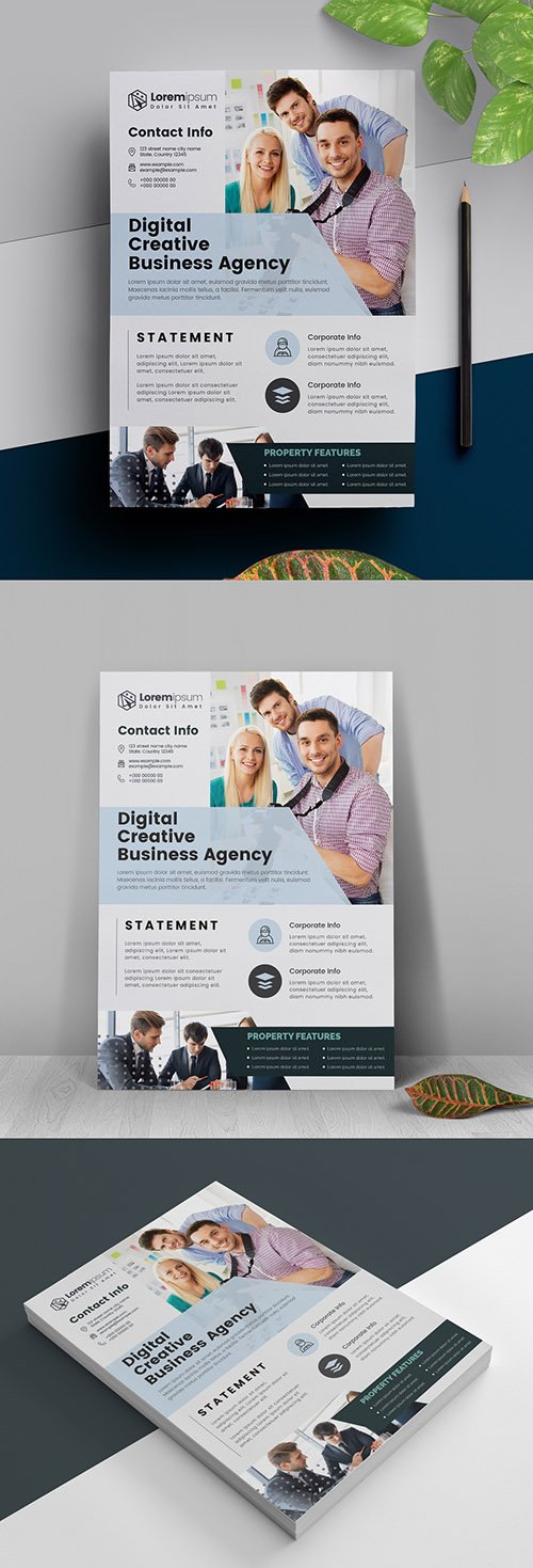 Corporate Business Flyer Layout 317788430