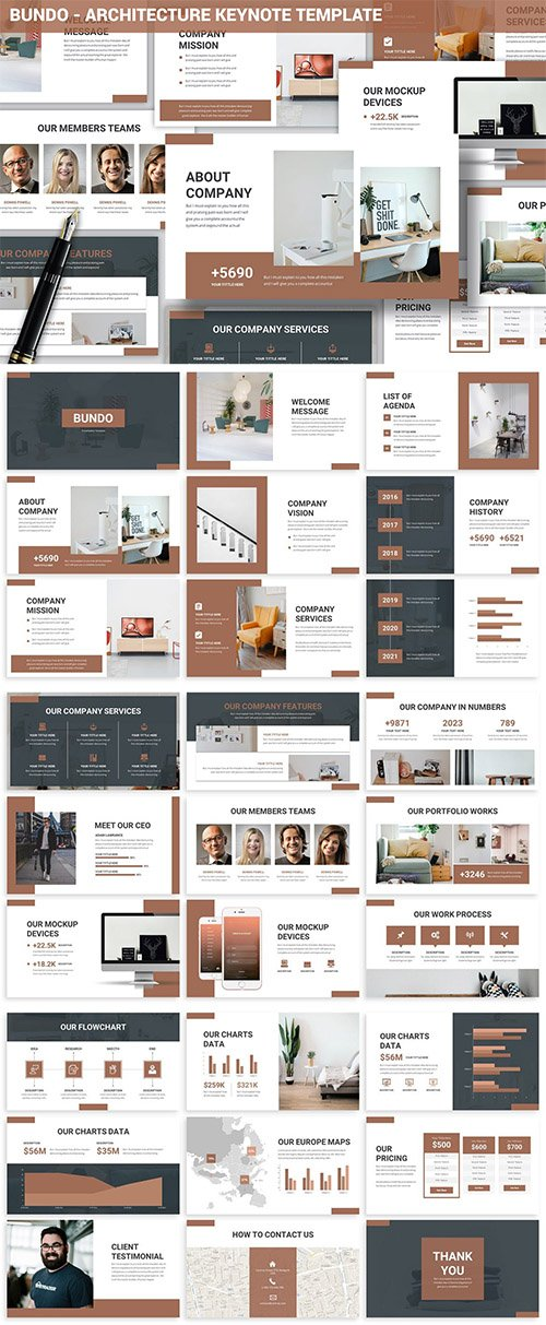 Bundo - Architecture Keynote Template
