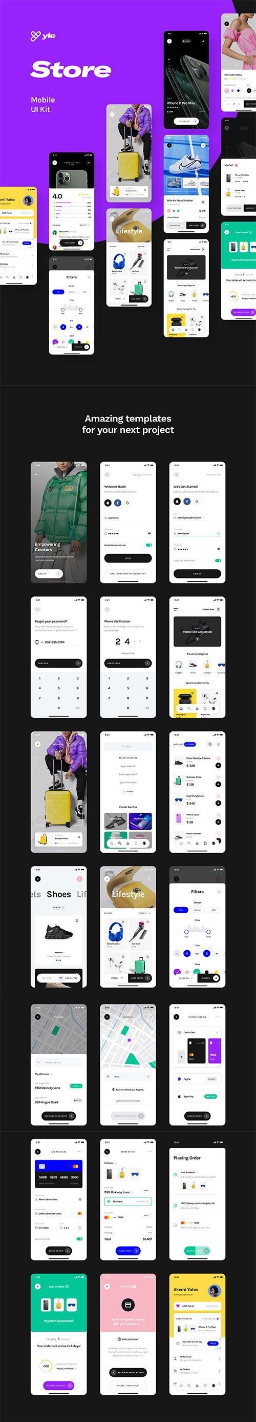 Yle Store UI Kit