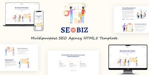 ThemeForest - Seobiz v1.0 - Multipurpose SEO HTML5 Template - 23881673