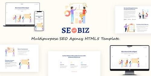 ThemeForest - Seobiz v1.0 - Multipurpose SEO HTML5 Template - 23881673