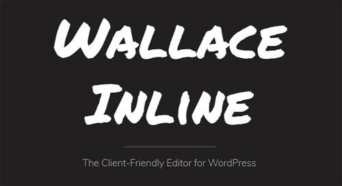 Wallace Inline v2.2.15 - Front-end editor for Beaver Builder
