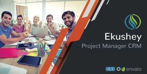 CodeCanyon - Ekushey v4.3 - Project Manager CRM - 9492104 - NULLED