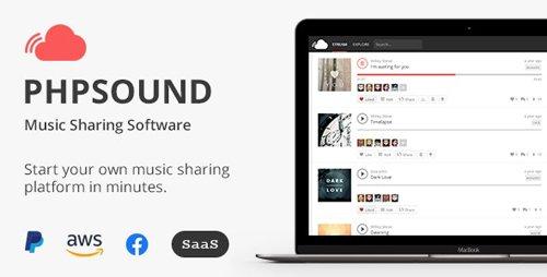 CodeCanyon - phpSound v6.2.0 - Music Sharing Platform - 9016117 - NULLED