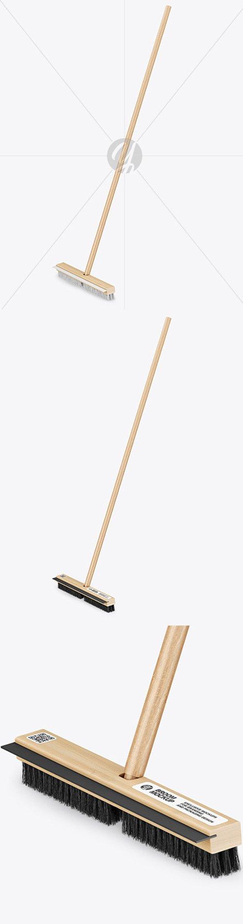 Broom Mockup 58711