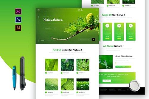 Naturepic | Newsletter Template
