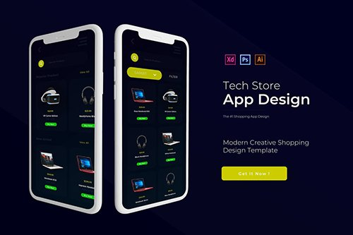 Tech Store | App Template