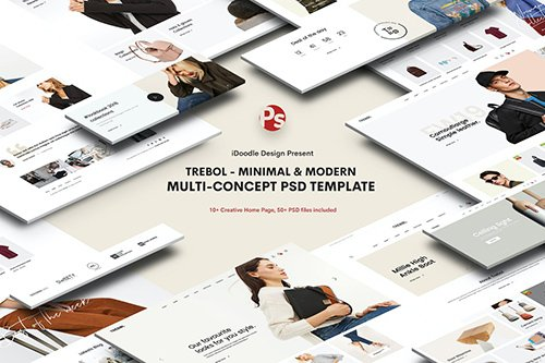 Trebol - Minimal & Modern Multi-Concept