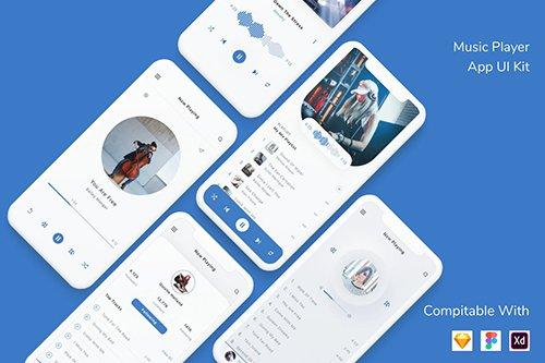 Music Player App UI Kit