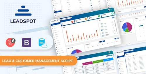 CodeCanyon - Lead Spot v3.0 - Lead & Customer Management Script - 25080905