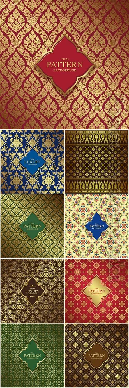 Luxury vector background, pattern decoration
