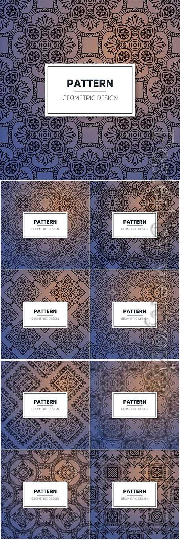 Luxury seamless vector pattern