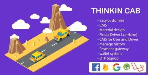 CodeCanyon - Thinkin Cab & Bike | book Car, Bike & auto | full custom Code v4.0 - 23195568