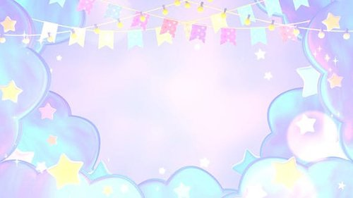Pastel Bunting Flags And Stars 25820748