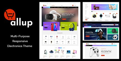 ThemeForest - Allup v1.0 - Multipurpose Responsive Prestashop Theme - 26598270