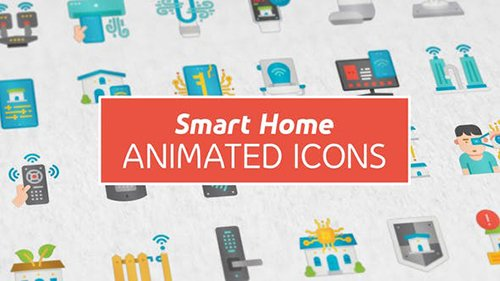 Smart Home Modern Flat Animated Icons 26444414