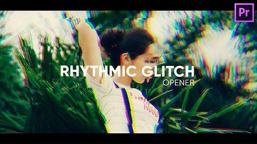 Rhythmic Glitch Opener for Premiere Pro 26565867