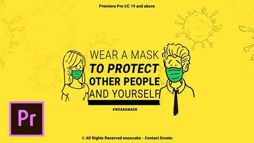 Coronavirus Animation Stay Safe For Premiere Pro 26451785