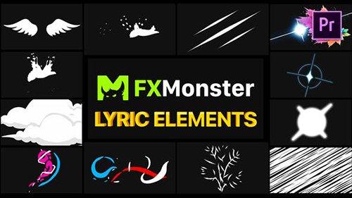 Lyric Elements   Premiere Pro MOGRT 26541351
