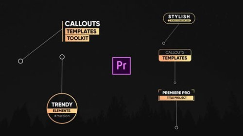 Trendy Callout Titles-Premiere Pro 26542006