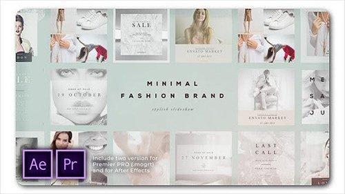 Fashion Brand Minimal Slideshow 26550009