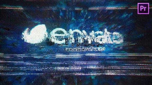 Glitch Logo for Premiere Pro 26548695