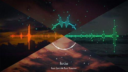 Audio Spectrum Music Visualizer 26569797