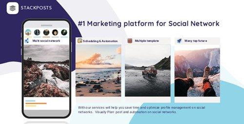 CodeCanyon - Stackposts v7.0.3 - Social Marketing Tool - 21747459 - NULLED