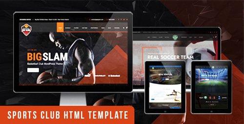 ThemeForest - BigSlam v1.0 - Sport Clubs- HTML Template - 25296569
