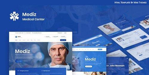 ThemeForest - Mediz v1.0 - Medical HTML - 25615277