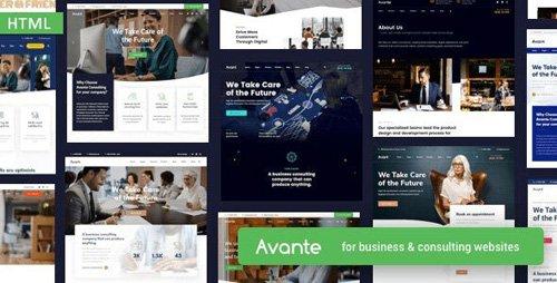 ThemeForest - Avante v1.0 - Business HTML Template - 25784414