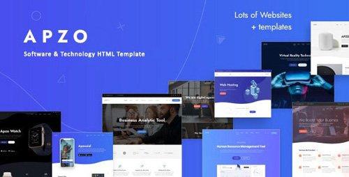 ThemeForest - Apzo v1.0 - Software App HTML Template - 26005285