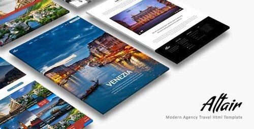 ThemeForest - Altair v1.0 - Travel Agency HTML - 26262184