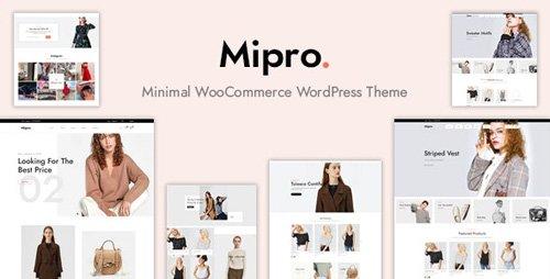 ThemeForest - Mipro v1.1.4 - Minimal WooCommerce WordPress Theme - 23498070