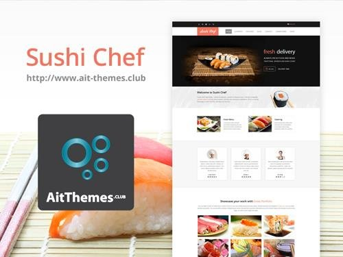Ait-Themes - Sushi v2.0.0 - Food Delivery WordPress Theme