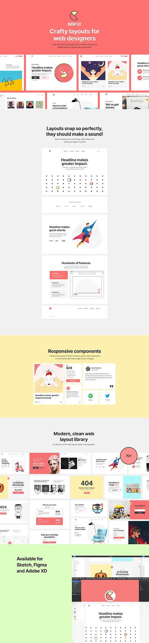 Bright Kit Web Layouts