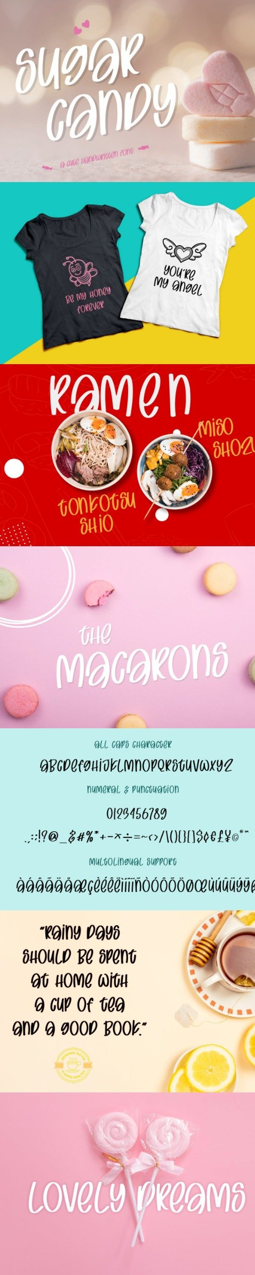 Sugar Candy - Sweet and Quirky Font